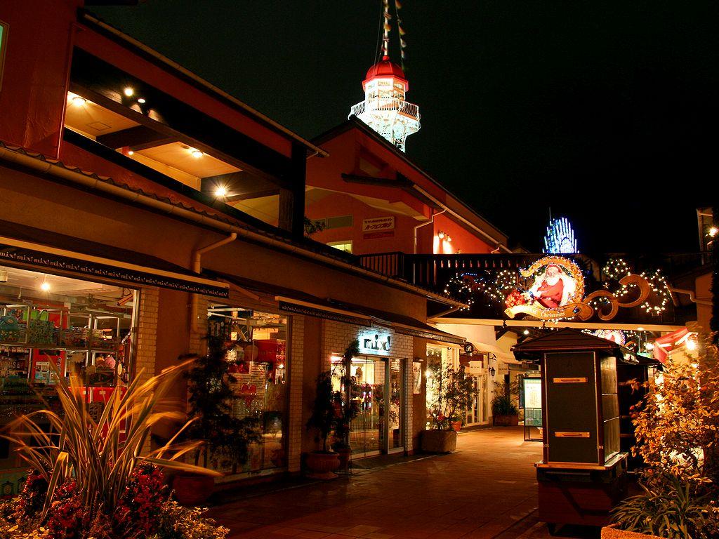 神戸ハーバーランド・モザイクのクリスマス/神戸市/神戸ハーバーランドのクリスマス/壁紙写真無料写真素材