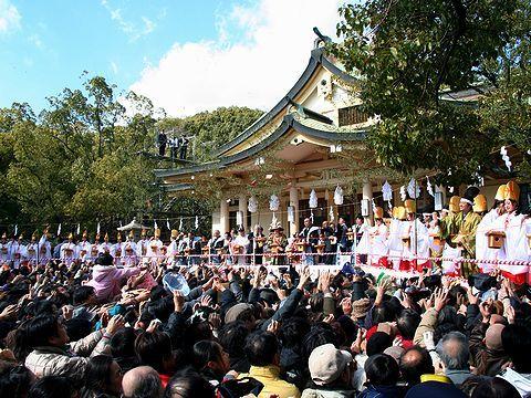 節分祭・湊川神社/神戸市