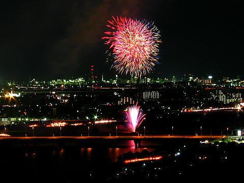 加古川祭り花火大会・加古川市花火大会