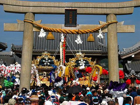 大塩天満宮秋祭り 大塩の獅子舞・播州の秋まつり
