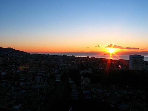 兵庫県神戸市の初日の出・正月の風景写真画像