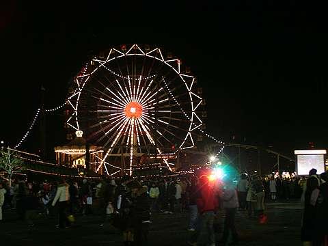 ポートピアランド・2006年カウントダウンイベント/新春花火大会1