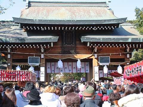 神戸の初詣・2006年(平成18年・戌年)・湊川神社