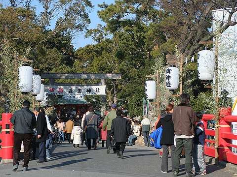 神戸の初詣・2006年(平成18年・戌年)・長田神社