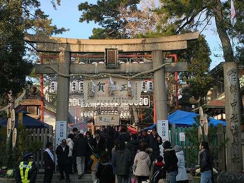神戸の初詣・2006年(平成18年・戌年)・海神社の初詣