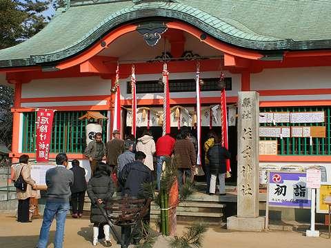 明石市/住吉神社の初詣・お正月の風景