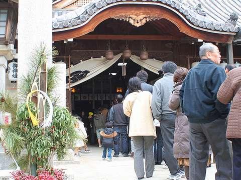 高砂市/高砂神社の初詣・お正月の風景