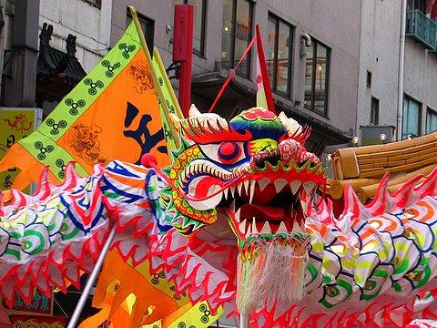 中国龍舞/神戸南京町・春節祭