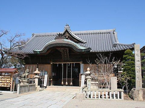 人丸山 柿本神社(人丸神社)本殿