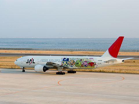 たまごっち誕生10周年記念のJALたまごっちジェット・神戸空港/神戸市