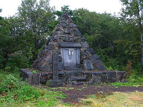 神鍋山山頂付近にある神鍋神社・神鍋高原