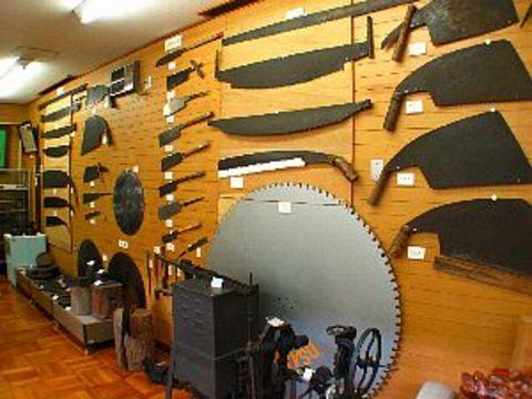 三木 金物博物館 展示室