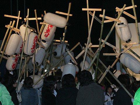 魚吹八幡神社提灯練り / あぼしまつり 姫路市