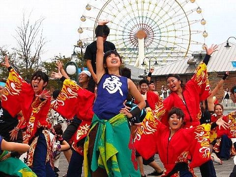 第4回 神戸よさこいまつり・2005 in ハーバーランド・はねっこ広場