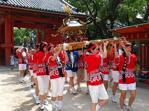 西宮まつり・神輿陸渡御&海上渡御 -西宮神社の秋祭り-