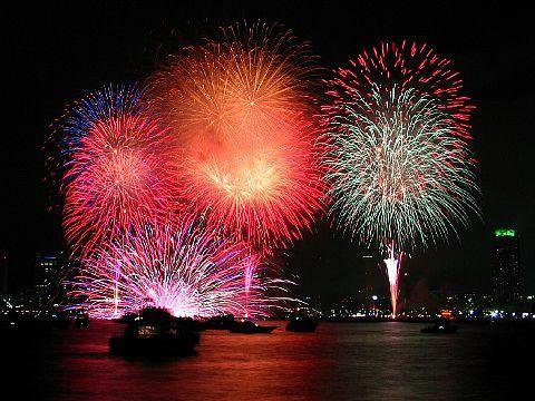 みなと神戸海上花火大会・神戸市花火大会 写真画像