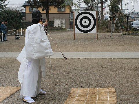 御弓神事(御弓祭)・御坂神社/三木市志染町