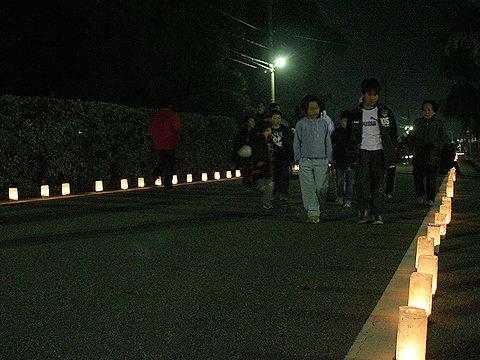 あぼし祭りの行灯