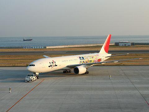 たまごっち誕生10周年記念JALたまごっちジェット・神戸空港/神戸市