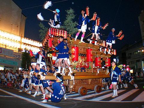 -西宮神社の秋祭り-だんじり祭り・西宮まつり だんじり練り合わせ