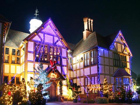 クリスマス夜景の壁紙