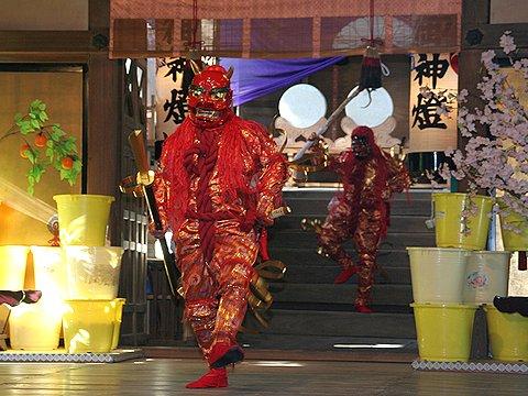 武神祭(津の宮鬼追い・追儺式)/魚吹八幡神社