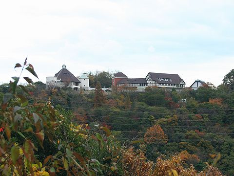 市ヶ原から見た布引ハーブ園/神戸市六甲山