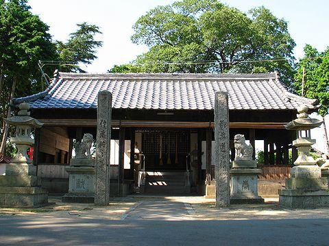 宮本伊織ゆかりの米田天神社/高砂市
