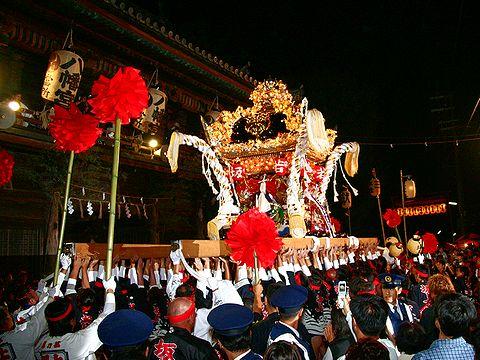 屋台練り/姫路市・魚吹八幡神社秋季例祭