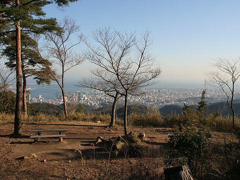 鍋蓋山山頂展望広場/神戸市六甲山
