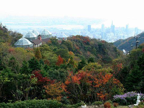 布引ハーブ園・グラスハウス/神戸市六甲山
