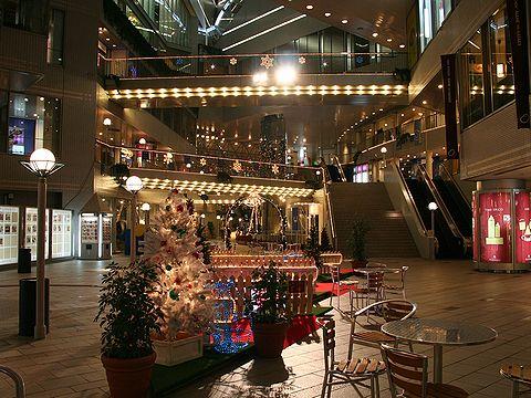 オリエンタルアベニューのクリスマスイルミネーション/神戸市