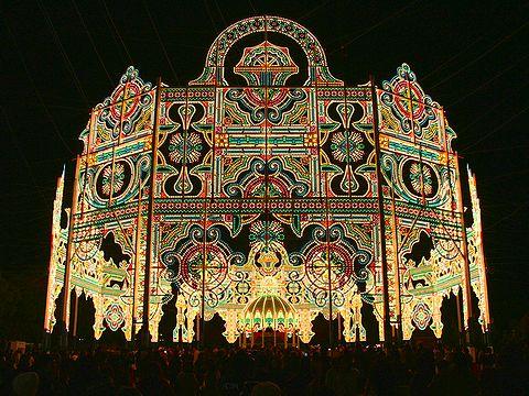 東遊園地のスパッリエーラ・神戸ルミナリエ2006/神戸市旧居留地