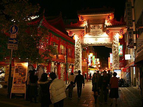 長安門ライトアップ/ランターンフェア(中国提灯)・神戸南京町のクリスマス&夜景/神戸市