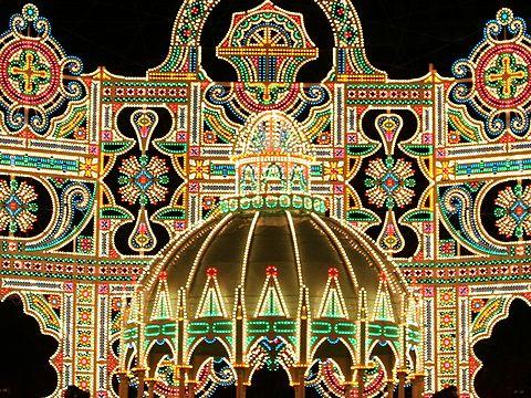 光の記念堂 カッサアルモニカ・2006神戸ルミナリエ/神戸市東遊園地