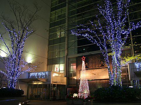そごう神戸店のクリスマスツリー/神戸市中央区