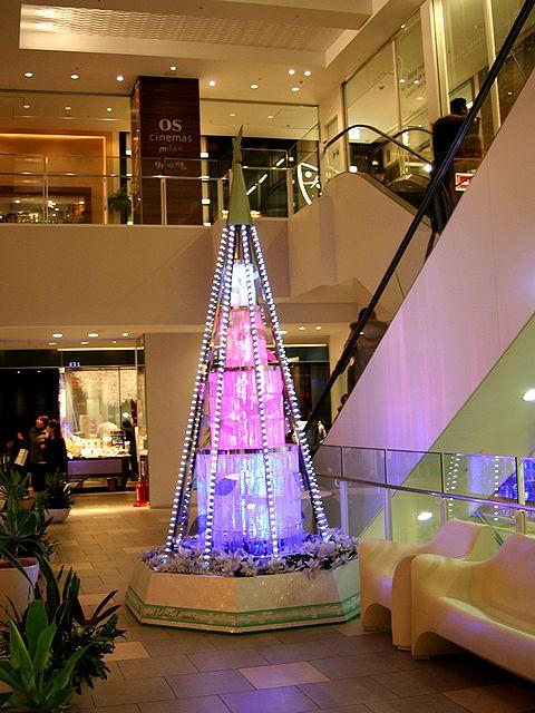 ミント神戸のクリスマスツリー/神戸市中央区