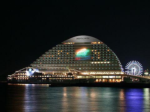 メリケンパークオリエンタルホテルのクリスマスイルミネーション/神戸市中央区