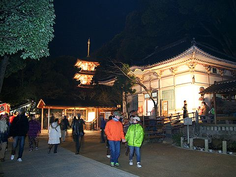 須磨寺三重塔と太子堂/神戸市