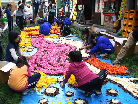 インフィオラータ神戸2007・元町穴門商店街/神戸市中央区