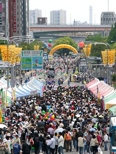 神戸祭り2007フラワーロードパレード/神戸市中央区