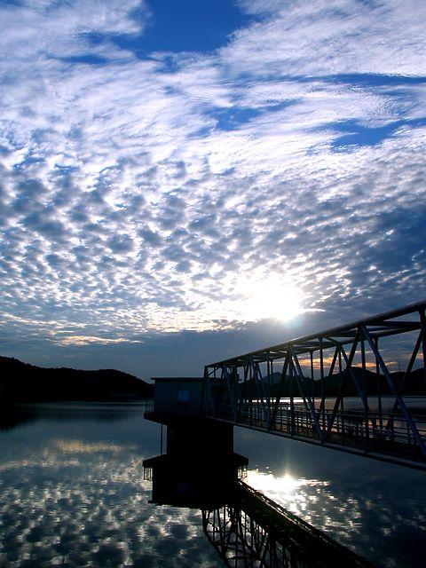 平荘湖とうろこ雲/加古川市