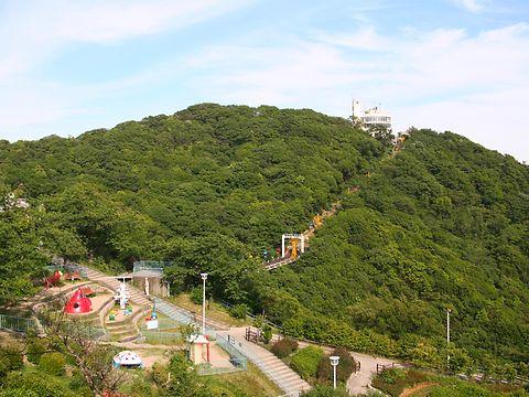 須磨山上遊園・須磨浦公園と鉢伏山/神戸市須磨区
