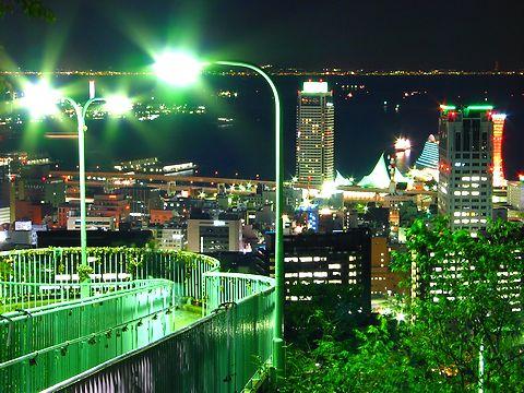 ビーナステラス・ビーナスブリッジと神戸の夜景/神戸市中央区