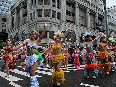 神戸祭り・神戸サンバ / 神戸市