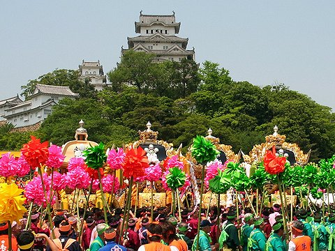 ザ 祭り屋台in姫路と世界遺産 姫路城