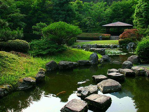 北播磨余暇村公園の日本庭園/多可町