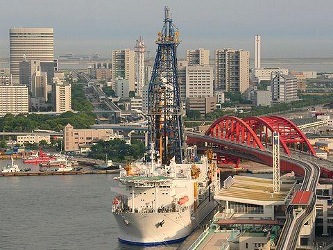 地球深部探査船「ちきゅう」/神戸港・神戸ポートターミナル