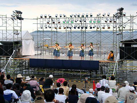 新舞子海岸のステージイベント/みつ海まつり