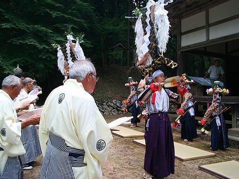 若杉ざんざか踊/三社神社